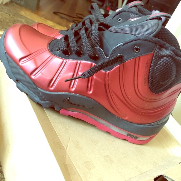 quality design 565d0 14fc3 Red Nike Air Max Posite Bakin Boot. M 5b8d837c800dee75f46e84fa